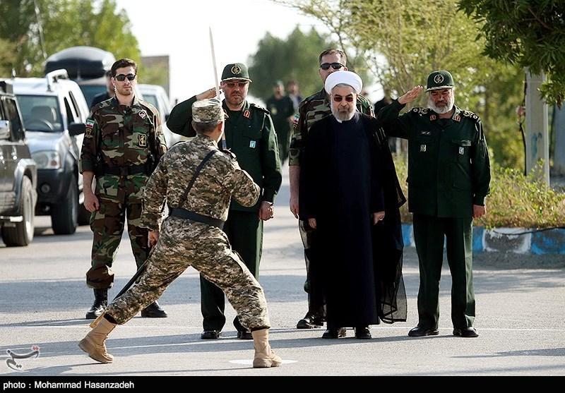 Risultati immagini per سپاه پاسداران حسن روحانی