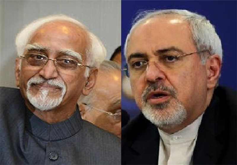 Iranian FM, Indian VP Meet in New Delhi, Discuss Broad Issues