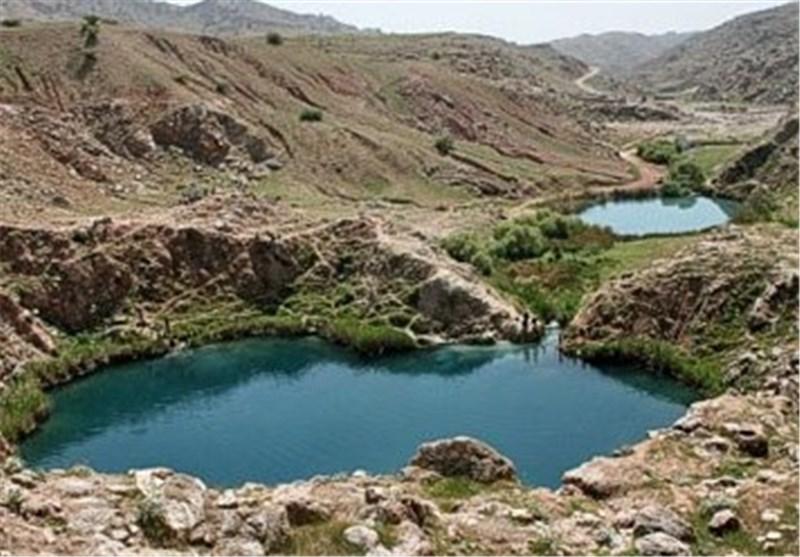 """قابلیت تبدیل شدن دریاچه دوقلوی """"سیاه گاو"""" آبدانان به جاذبهای بین المللی+ تصویر"""