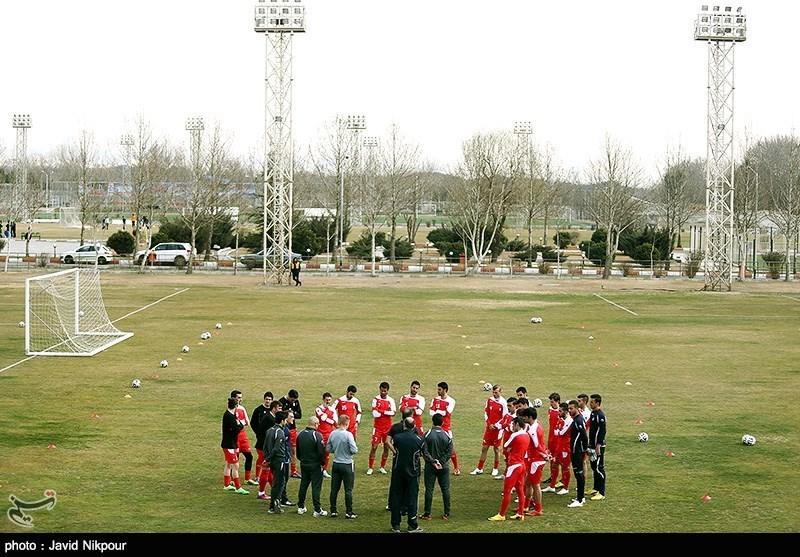 تمرین تیم ملی فوتبال (تصاویر)