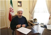President Rouhani Hails Close Ties between Iran, Belarus
