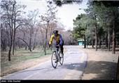 پیست دوچرخه سواری پارک چیتگر