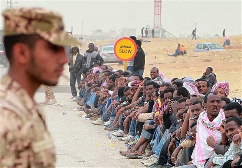 کمپ اخراج کارگران مهاجر در سعودی