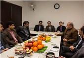 مدیرکل ارشاد استان البرز از دانشکده خبر کرج بازدید کرد