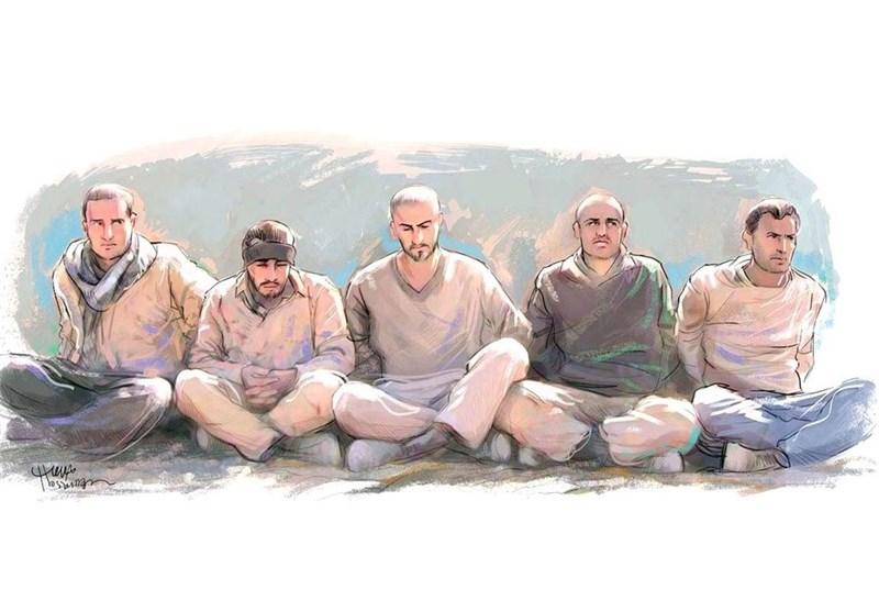 پنج سرباز ایرانی