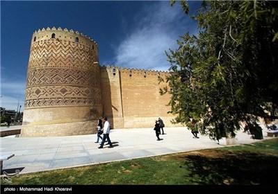 قلعة کریم خان فی مدینة شیراز جنوب ایران
