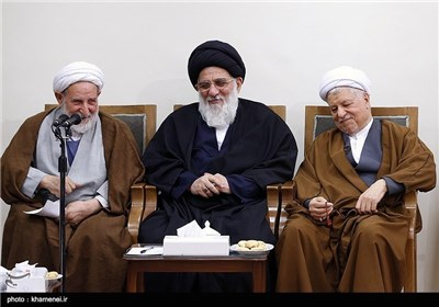 Members of Assembly of Experts Meet Supreme Leader