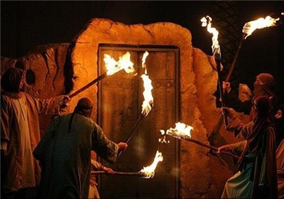 برپایی ششمین نمایشگاه تجسمی و سوگواره یاس کبود در شرق پایتخت