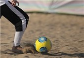 Iran Beach Soccer Team Defeats Belarus in Friendly