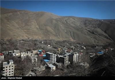 نمایی از منطقه بقعه امامزاده سیدمحمد نوربخش