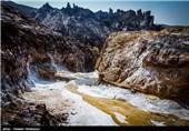 کوه های نمک دشتی بوشهر