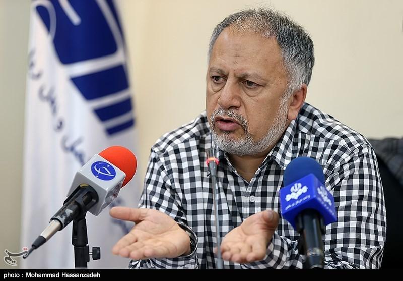 نشست خبری سید حسن موسوی نژاد مدیرعامل شرکت حملونقل ریلی رجاء