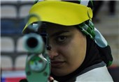 Iranian shooter Khedmati Wins Gold at France Event