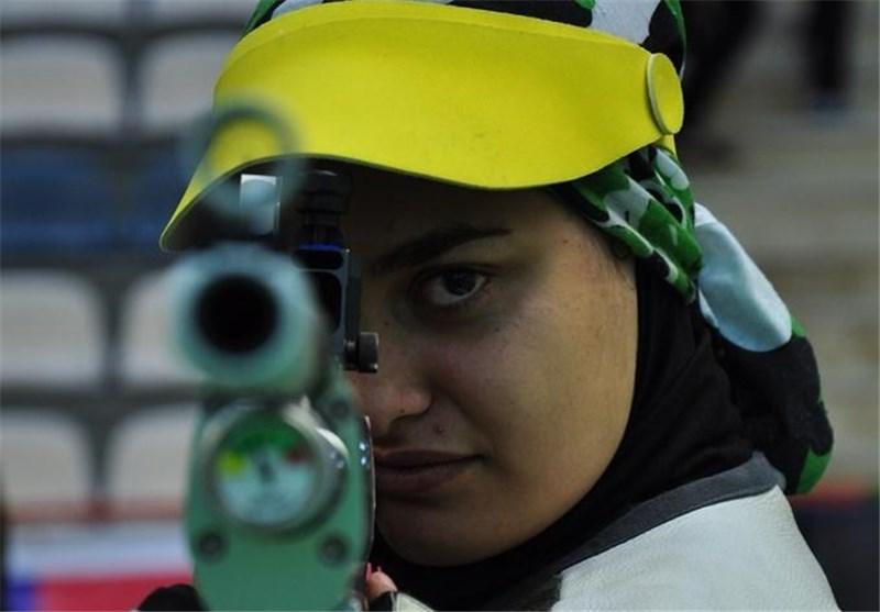 صعود بانوان المپیکی به مرحله نیمهنهایی تفنگ سه وضعیت