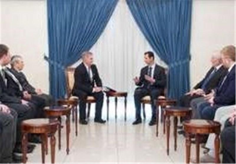 بشار الأسد : روسیا أعادت التوازن إلی العلاقات الدولیة بعد سنوات من هیمنة القطب الواحد