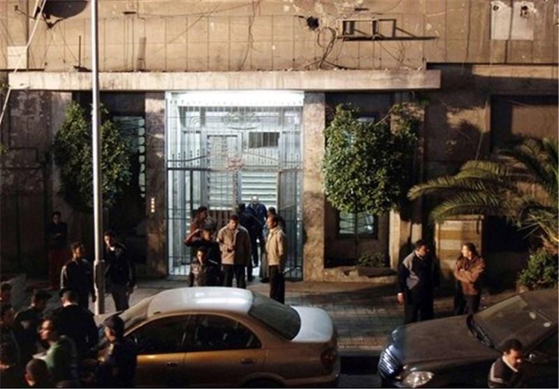 انفجار عبوة ناسفة أمام السفارة الصهیونیة بالقاهرة