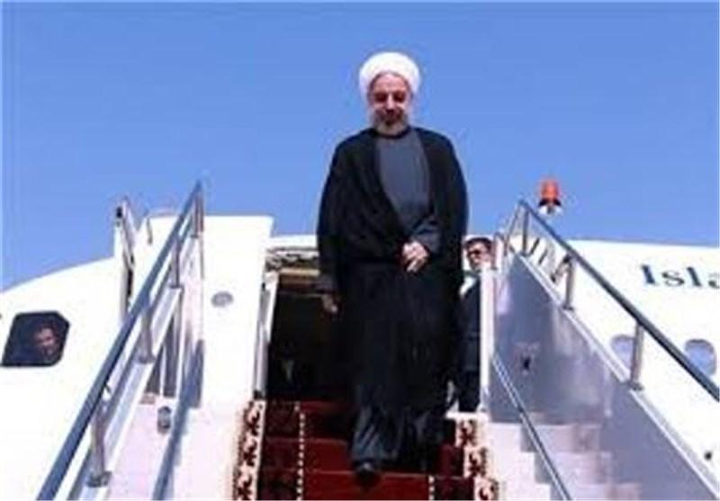 رئیس الجمهوریة یصل مسقط فی زیارة رسمیة لسلطنة عمان
