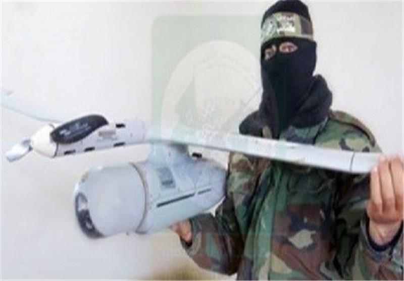 """""""کتائب القسام"""" تنشر صورا للطائرة الصهیونیة التی استولت علیها"""