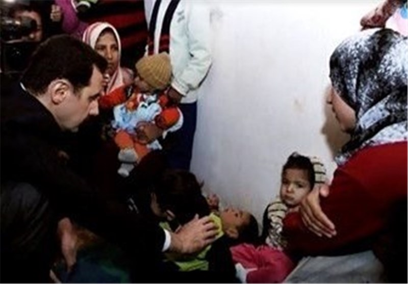 الأسد من عدرا : سوریا مستمرة فی محاربة الإرهاب