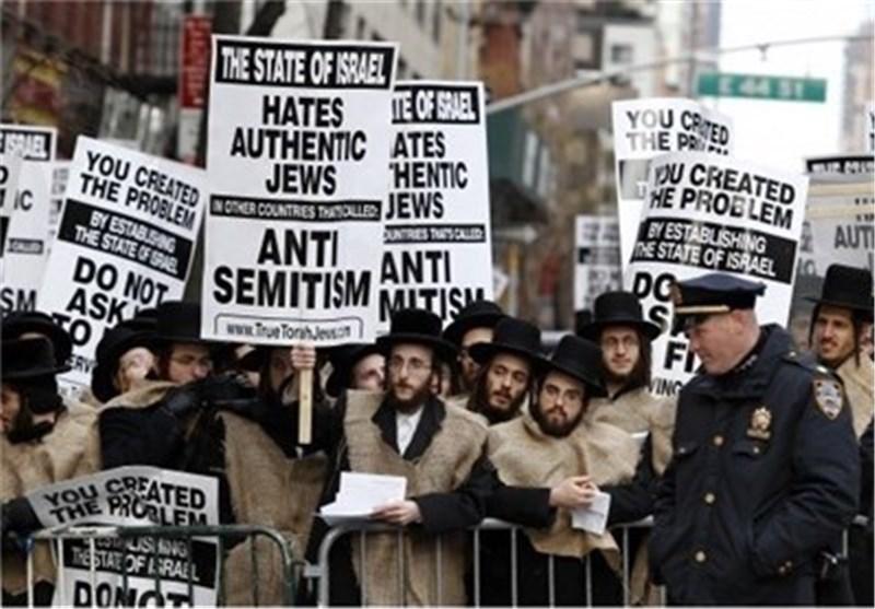 یهود یتظاهرون ضد «اسرائیل» والصهیونیة فی نیویورک