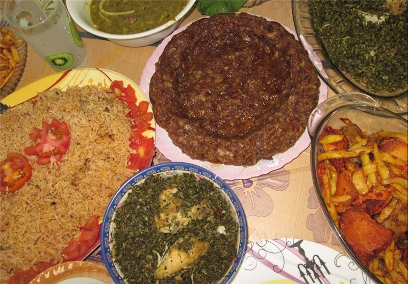جشنواره غذای محلی در ساربوک