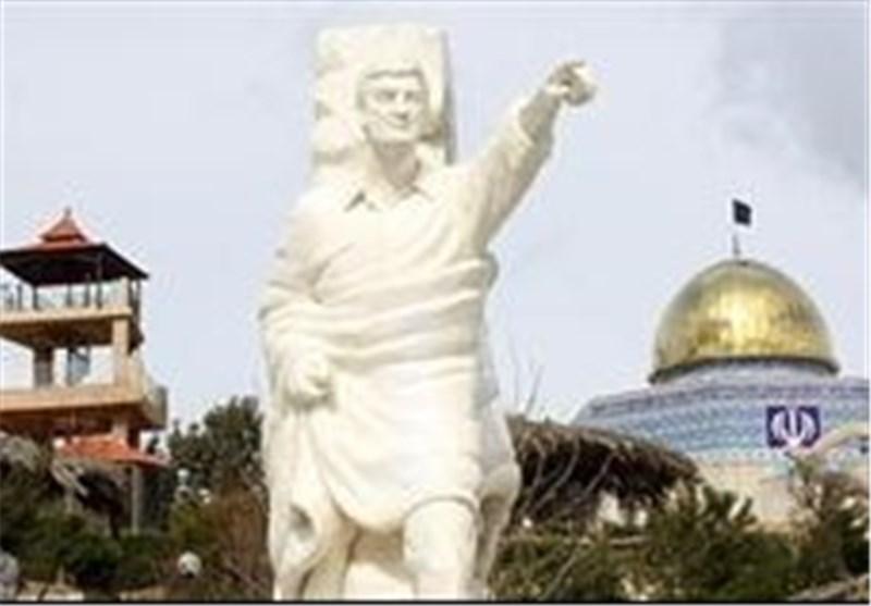 مجسمه جاوید الاثر احمد متوسلیان