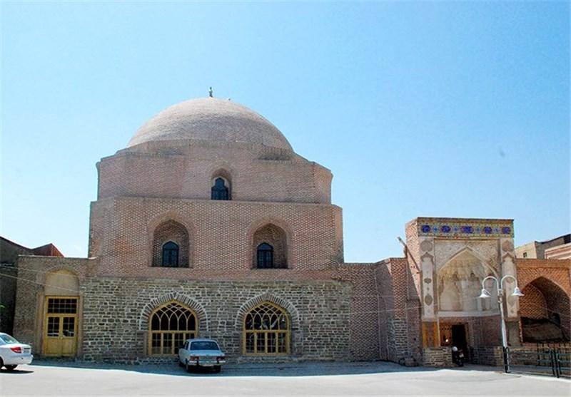 پیوند فرش با عرش در هویت بنای تاریخی مسجد جامع ارومیه+فیلم
