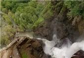 سمفونی گوش نواز آب و صخره در آبشارهای آذربایجان غربی+ تصاویر