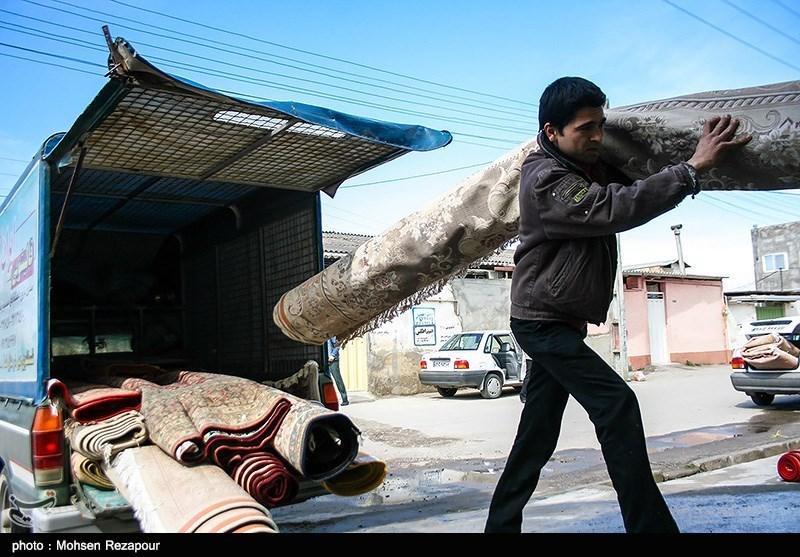 نرخ قالیشویی در تهران