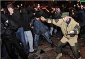 Thousands in Ukraine's Donetsk Rally for Crimea Split