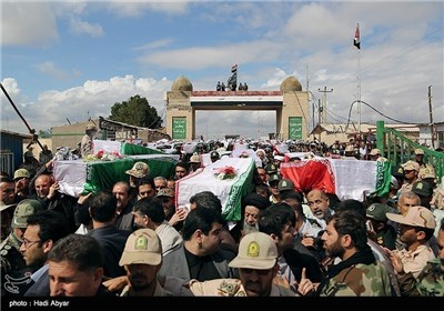 Bodies of Iranian Soldiers Killed in Iraqi Imposed War Return Home