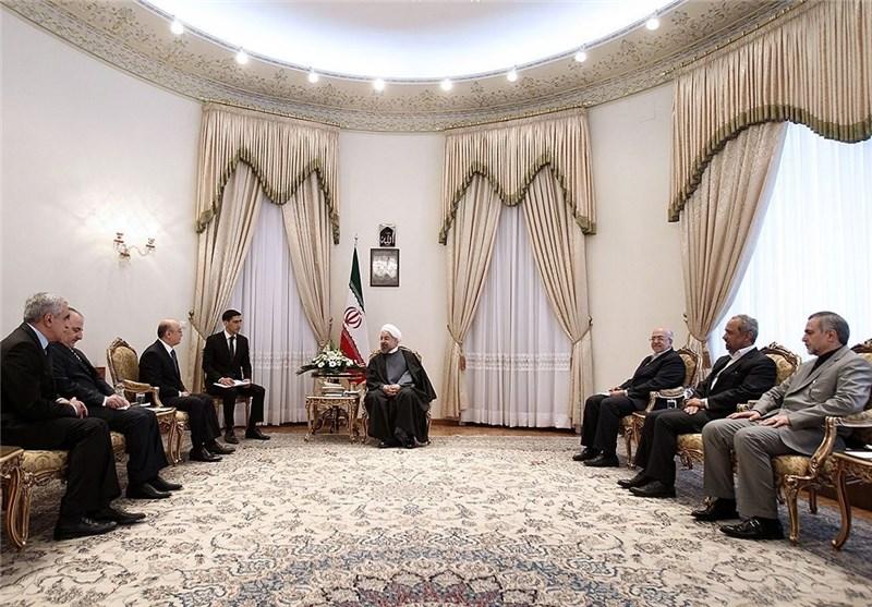 President: Enormous Potential for Stronger Tehran-Baku Ties