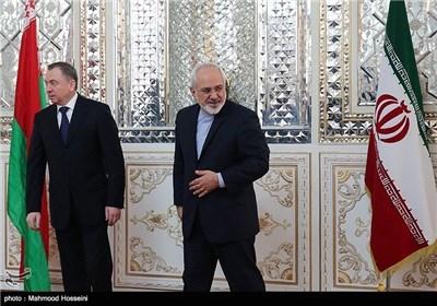 Iran's FM Zarif, Belarusian Counterpart Meet in Tehran