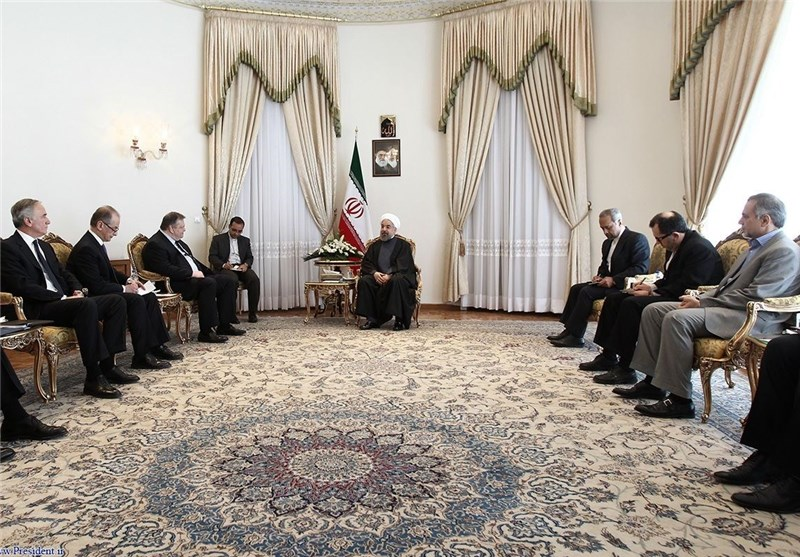 President Rouhani Urges Reconstruction of Iran-EU Ties