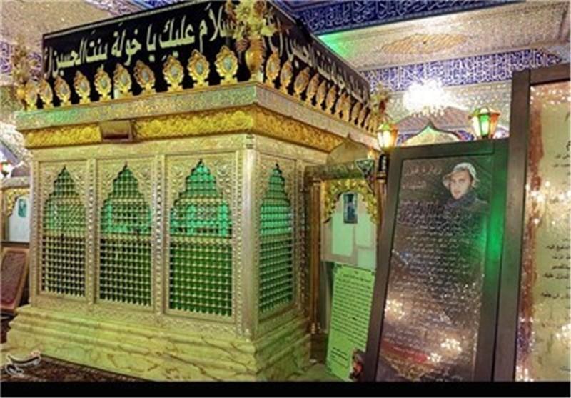 نگاهی به مسجد راس الحسین، حرم شیث نبی ، بارگاه خوله و مقبره شهید سید عباس موسوی
