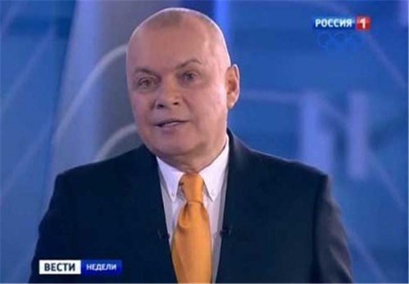 """مقدم برنامج تلفزیونی روسی یتوعد بتحویل الولایات المتحدة الى """"رماد مشع"""""""