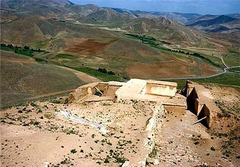 قلعه باستانی زیویه سقز با قدمتی به درازای تاریخ مادها + تصاویر