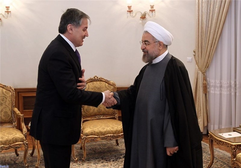 President Sees Great Opportunities for Expansion of Tehran-Dushanbe Ties
