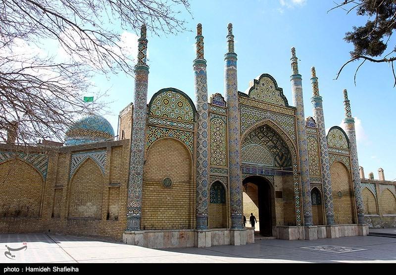 امامزاده حسین قزوین- عکس : حمیده شفیعی ها