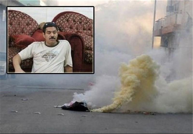 استشهاد بحرینی اثر استنشاقه غازات سامة اطلقتها السلطات فی قمع تظاهرة سلمیة