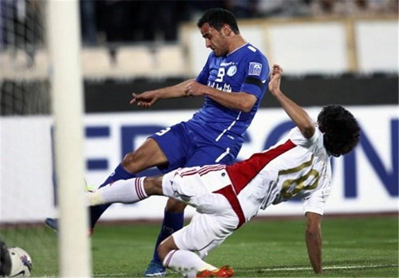 استقلال یتعادل مع الجزیرة الإماراتى 2/2 فى دوری آسیا