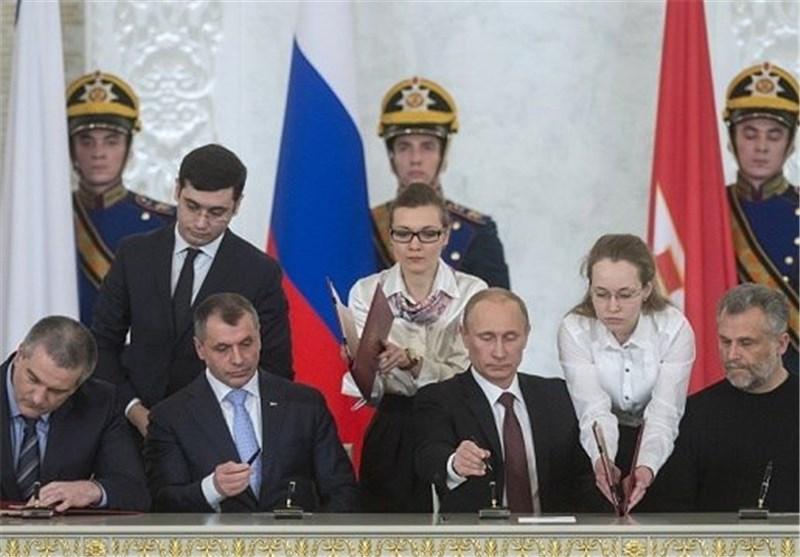 المحکمة الدستوریة الروسیة: معاهدة انضمام القرم الى روسیا تتطابق مع الدستور الروسی