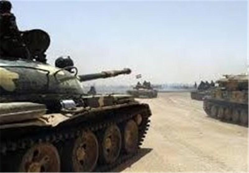 الجیش السوری یدخل منطقة الحصن وسط سوریا تمهیدا تطهیرها