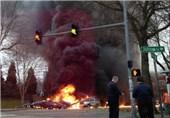 دو کشته در سقوط بالگرد در سیاتل آمریکا