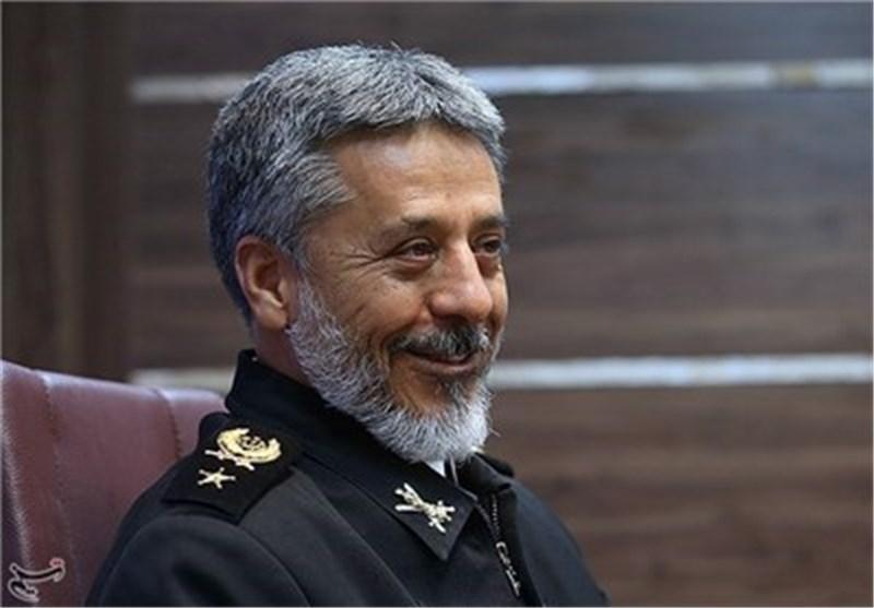قائد سلاح البحر بالجیش یهنیء الشعب الایرانی المسلم بمناسبة حلول العام الجدید