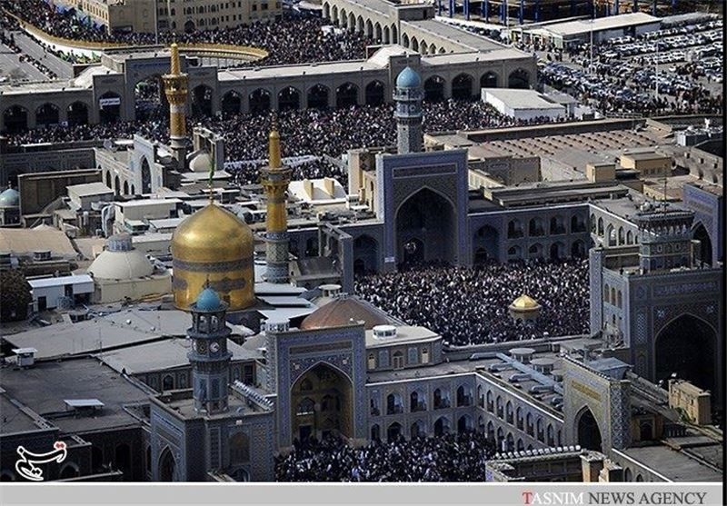 مشهد|ویژهبرنامههای تحویل سال نو در حرم امام رضا(ع) برگزار میشود