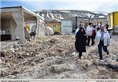 حل مشکل مسکن روستاییان زلزلهزده ورزقان با افزایش تسهیلات بانکی