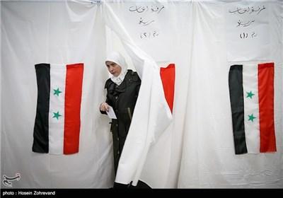 شرکت کنندگان در انتخابات ریاست جمهوری سوریه