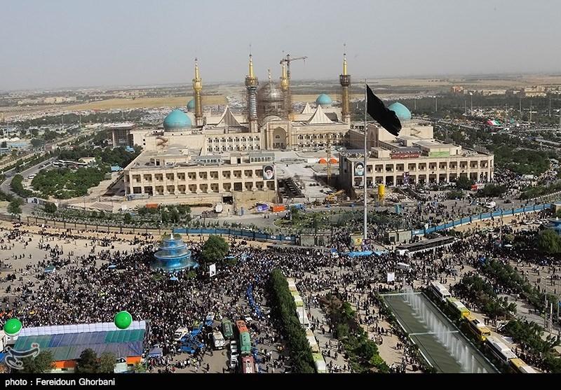 تصاویر هوایی از مرقد مطهر امام (ره)