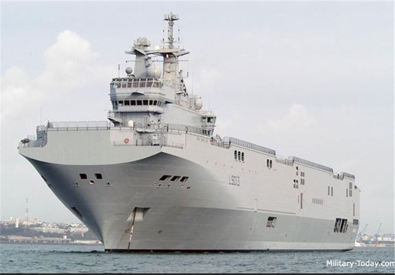US, Britain Oppose France's Sale of Mistral Warship to Russia
